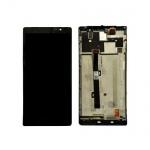 LCD + Touch + Frame (Assembled) pro Lenovo P90 Black (OEM)