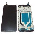 LCD + Touch + Frame (Assembled) pro Lenovo A7010 Black (OEM)