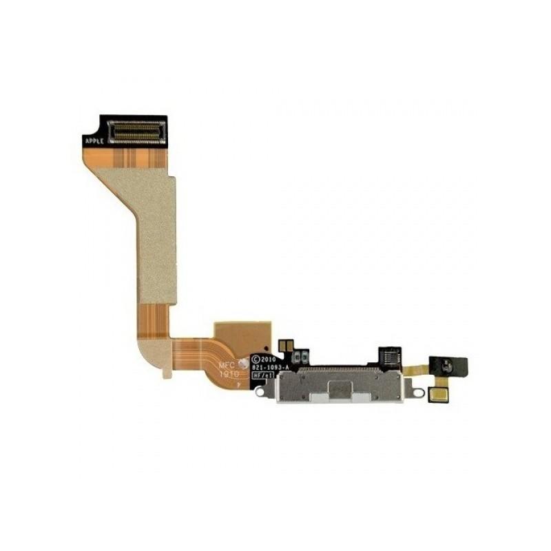 Napájecí flexi konektor White pro Apple iPhone 4