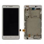 LCD + Touch + Frame pro Lenovo A536 White (OEM)