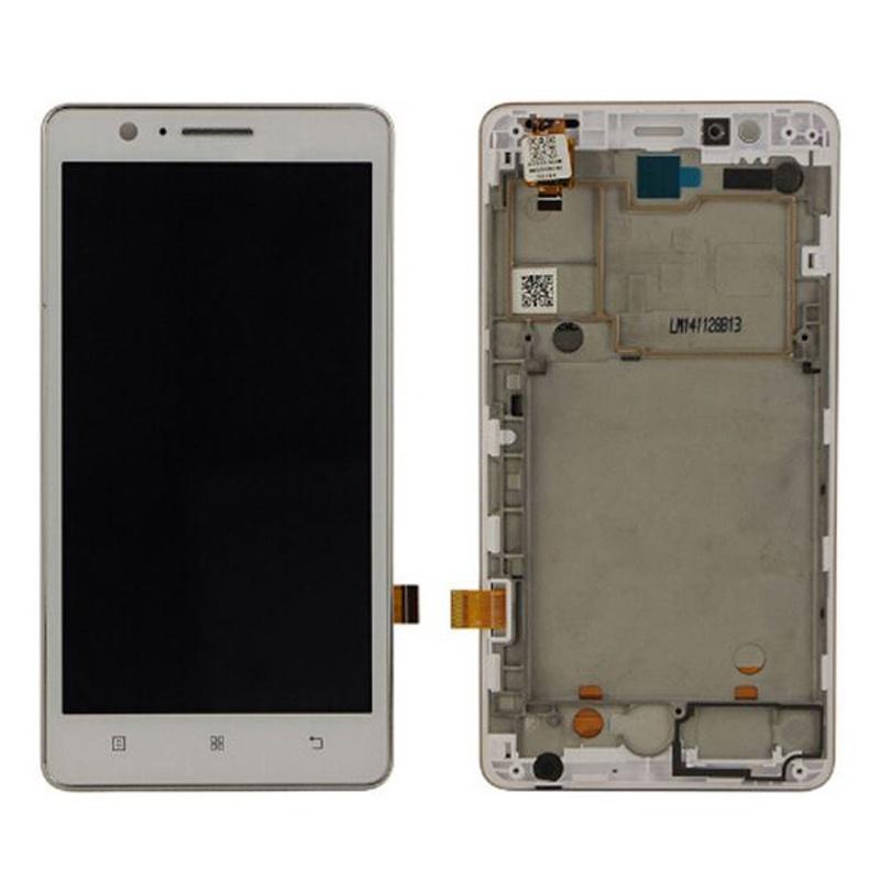 Lenovo A536 LCD + Touch + Frame White