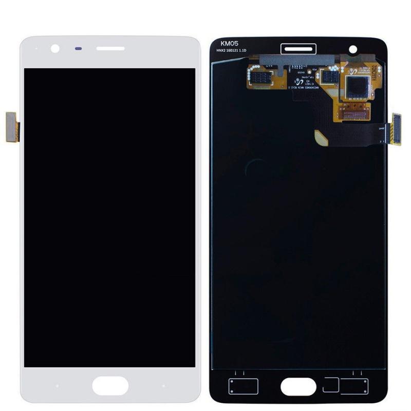 OnePlus 3 (A3003) LCD displej +dotyk White