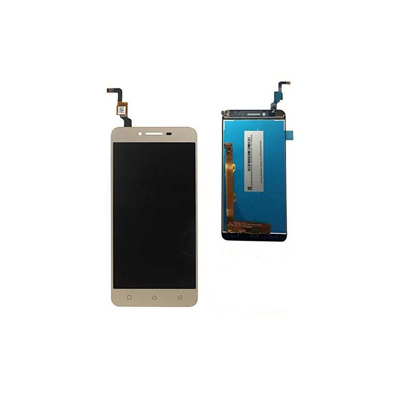 Lenovo K5 Plus LCD displej + dotyk + rám Gold