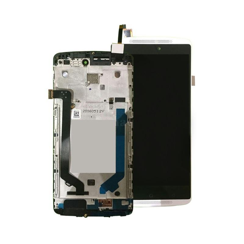 Lenovo A7010 LCD + dotyk + rám  (spojený), bílé