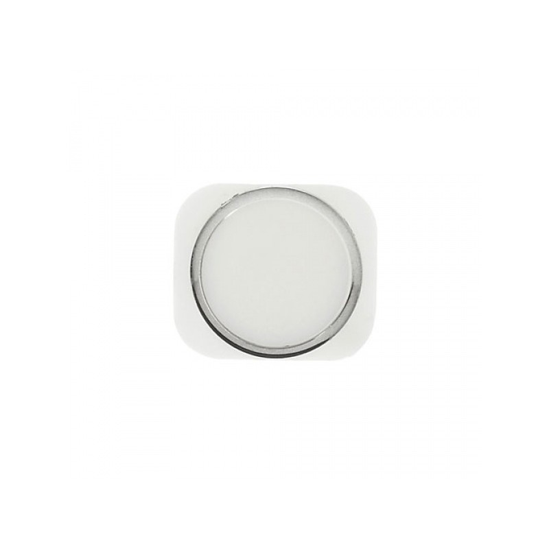 Home Button Silver pro Apple iPhone 5S