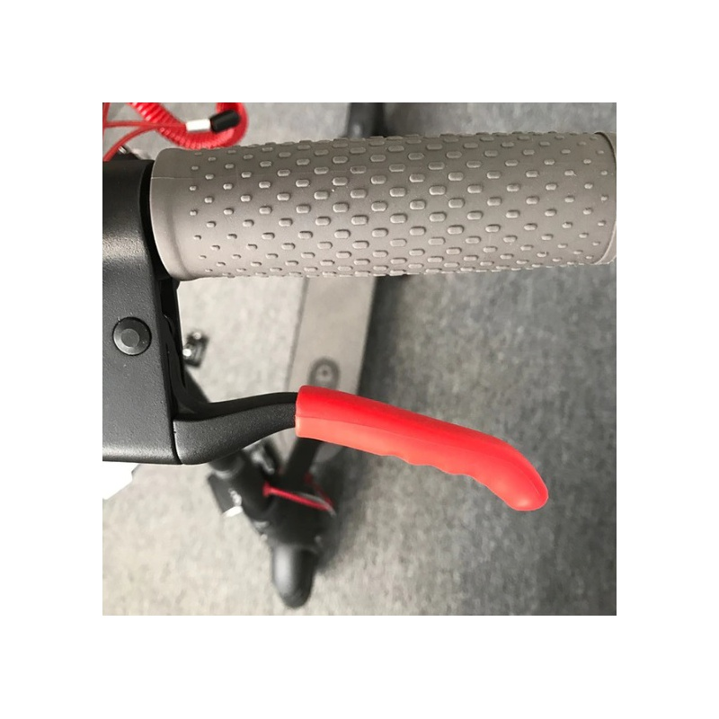 Brake Handle Silicone Bar Grips for Xiaomi Scooter White (OEM)