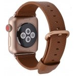 Leather Colour Backle Band For Apple Watch 38 / 40mm Brown
