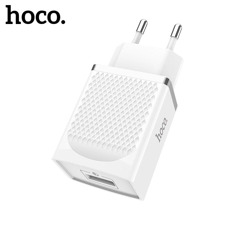 Hoco Vast Power QC3.0 Single Port Charger (EU) White