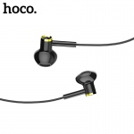 Hoco Canorous Wire Control Earphones for 3,5 mm Jack (HIFI sound quality) Black