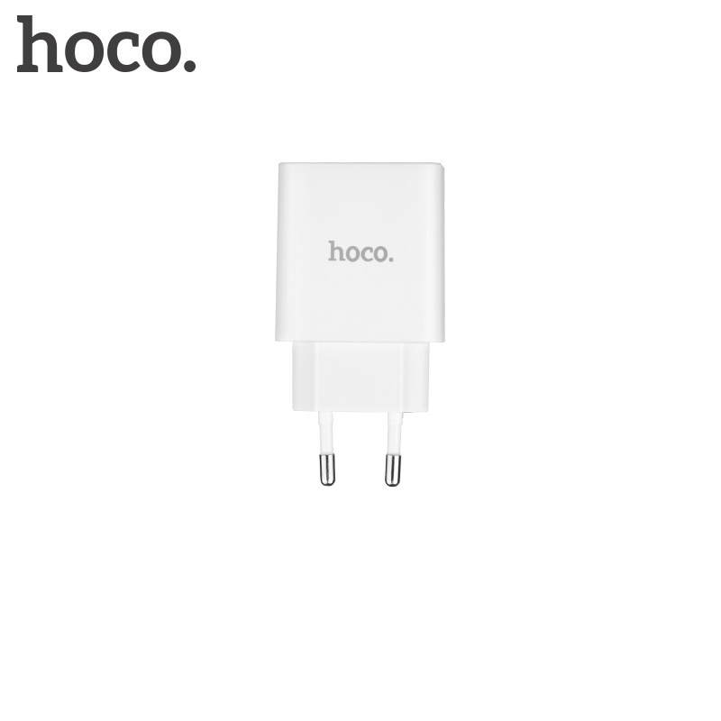 Hoco Cool Double Port Charger (EU) White
