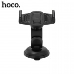 Hoco Earphohite Refined Suction Cup Base in-Car Dashboard Phone Holder (Black)