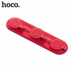 Hoco Magnetic Cable Manager (Red)