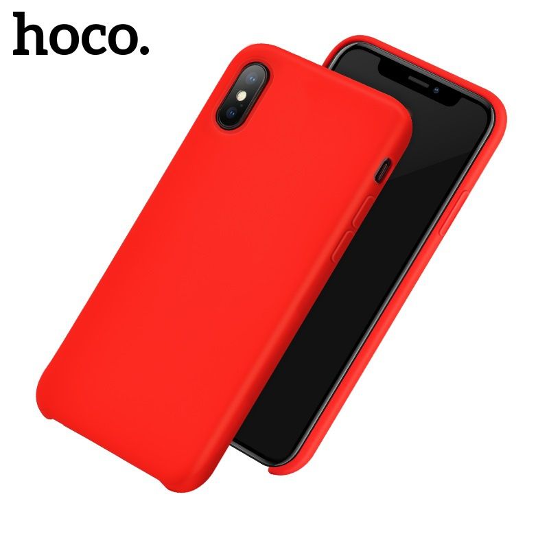 Hoco Pure Series Protective Case for iPhone X/XS Red