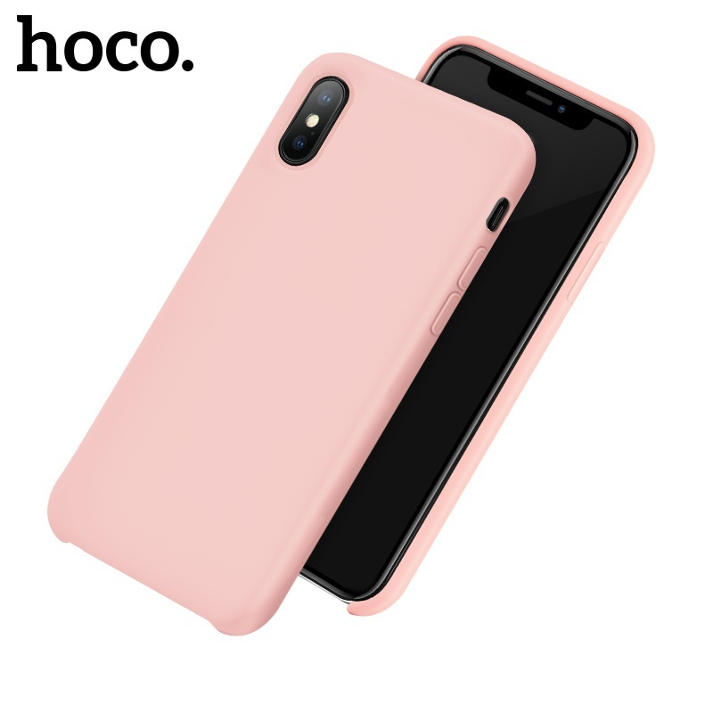 Hoco Pure Series Protective Case for iPhone X/XS Pink