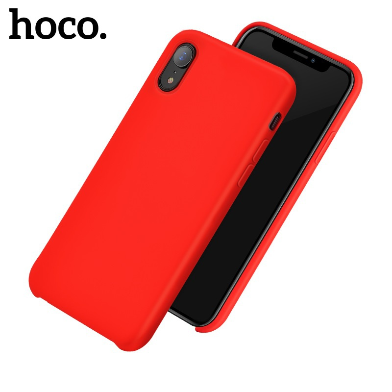 Hoco Pure Series Protective Case for iPhone XR Red