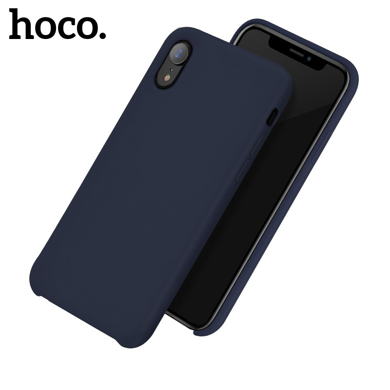 Hoco Pure Series Protective Case for iPhone XR Blue