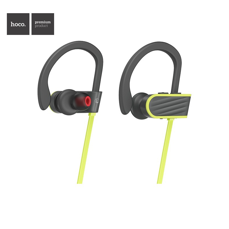 Hoco Stroke and Embracing Sporting Bluetooth Earphone Gray