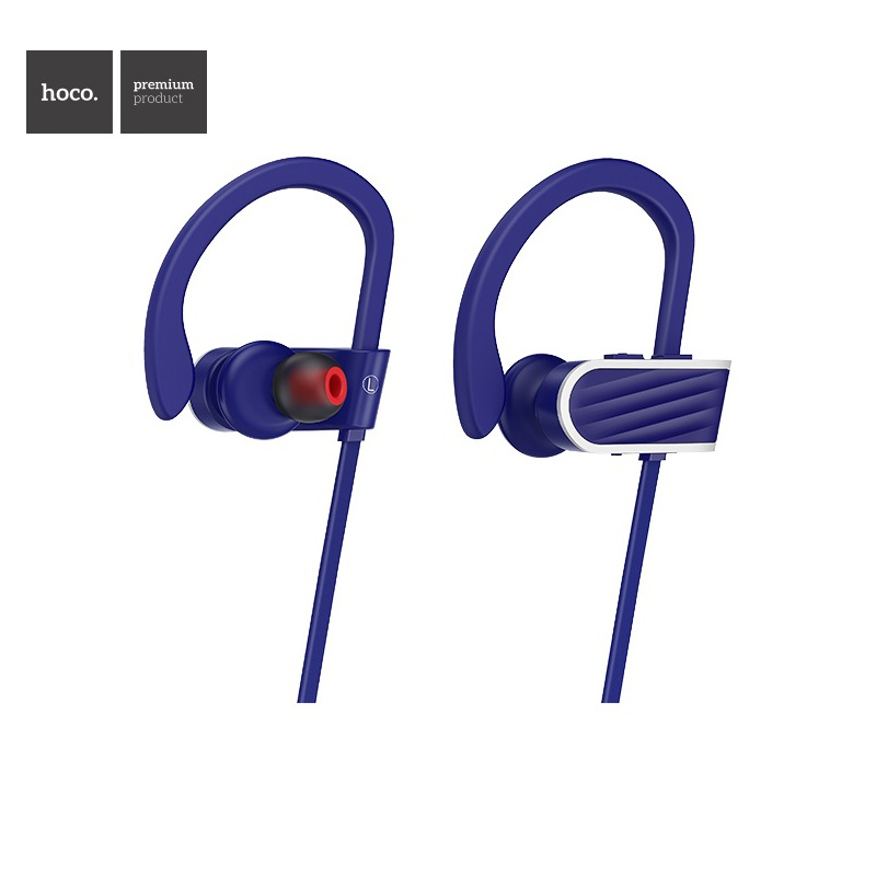 Hoco Stroke and Embracing Sporting Bluetooth Earphone Blue