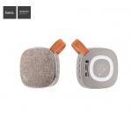 Hoco Light Textile Desktop Wireless Speaker (Blonde and Brown)