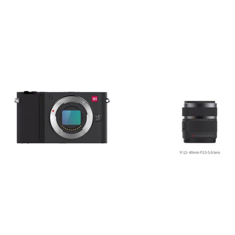Yi M1 4K Mirrorless kamera + 12-40mm F3.5-5.6, černá