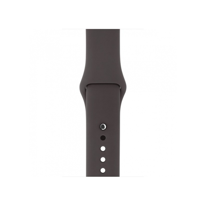 Silicon Sport Band For Apple Watch 42mm Brown