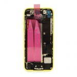 Back Cover Full Assembled Yellow pro Apple iPhone 5C