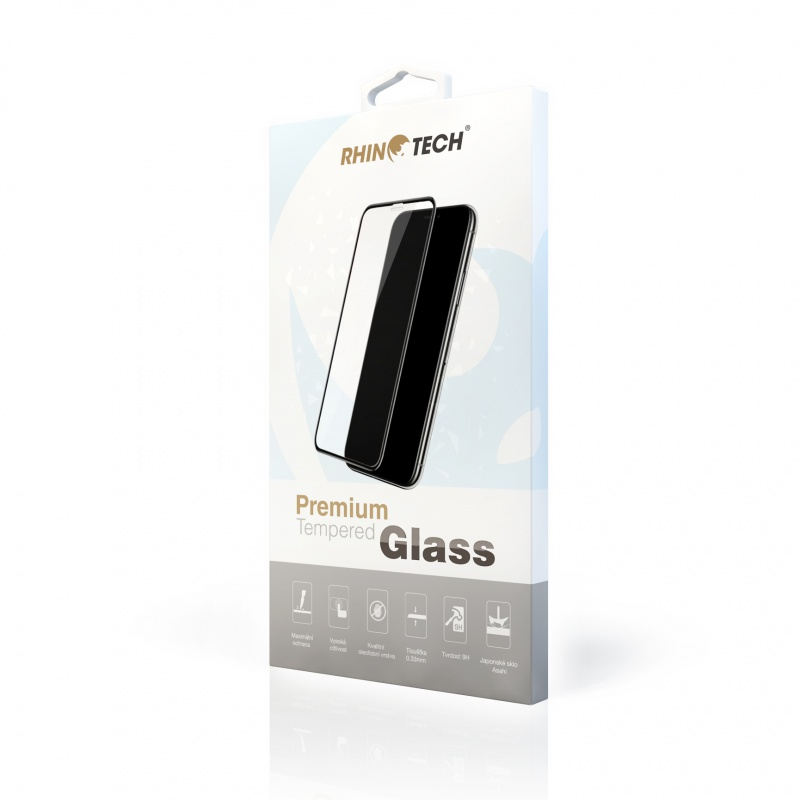 RhinoTech 2 Tvrzené ochranné 2.5D sklo pro Huawei Honor 8X (Full Glue) Black