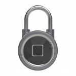 Smart Fingerprint Padlock Lock Grey