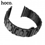 Hoco Grand Steel Strap Black for Apple Watch Series 4 (40mm)