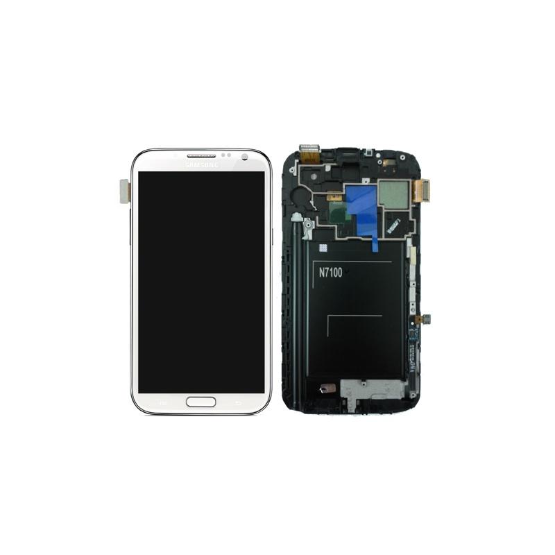 Samsung Galaxy Note 2 (N7100) LCD displej +dotyk White