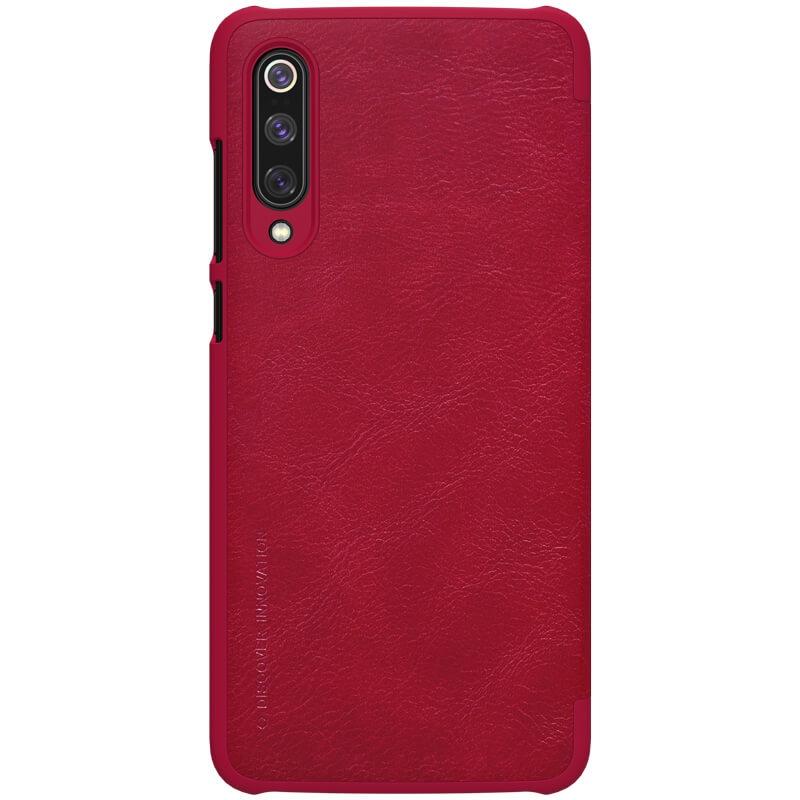 Nillkin Qin Leather Case pro Xiaomi Mi 9 Red