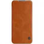 Nillkin Qin Leather Case pro Xiaomi Redmi Note 7 / Note 7 Pro Brown
