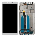 Xiaomi Redmi 6 / 6A LCD + Touch + Frame (Assembled) - White (OEM)
