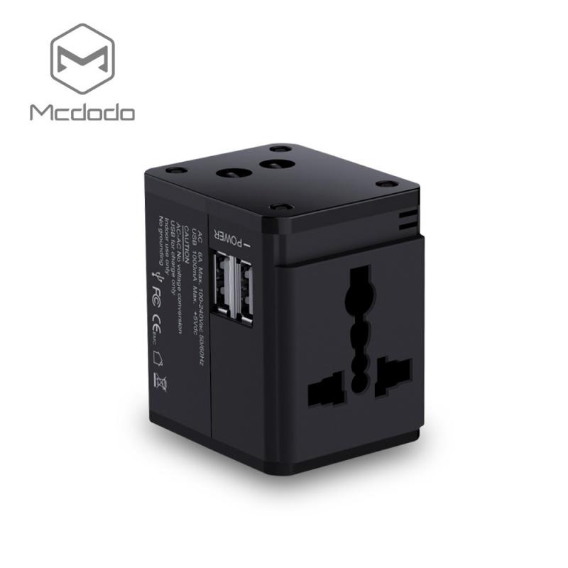 Mcdodo Universal Travel Charger (5V, 1A), Black
