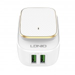 LDNIO 2 Port USB Charger With Night Light