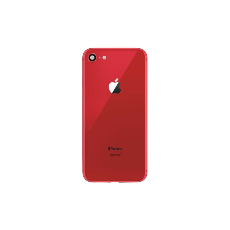 Back Cover Assembled Red pro Apple iPhone 8