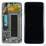 LCD + Touch + Frame (Assembled) pro Samsung Galaxy S7 Edge Black (OEM)