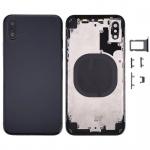 Back Cover Assembled Black pro Apple iPhone XS