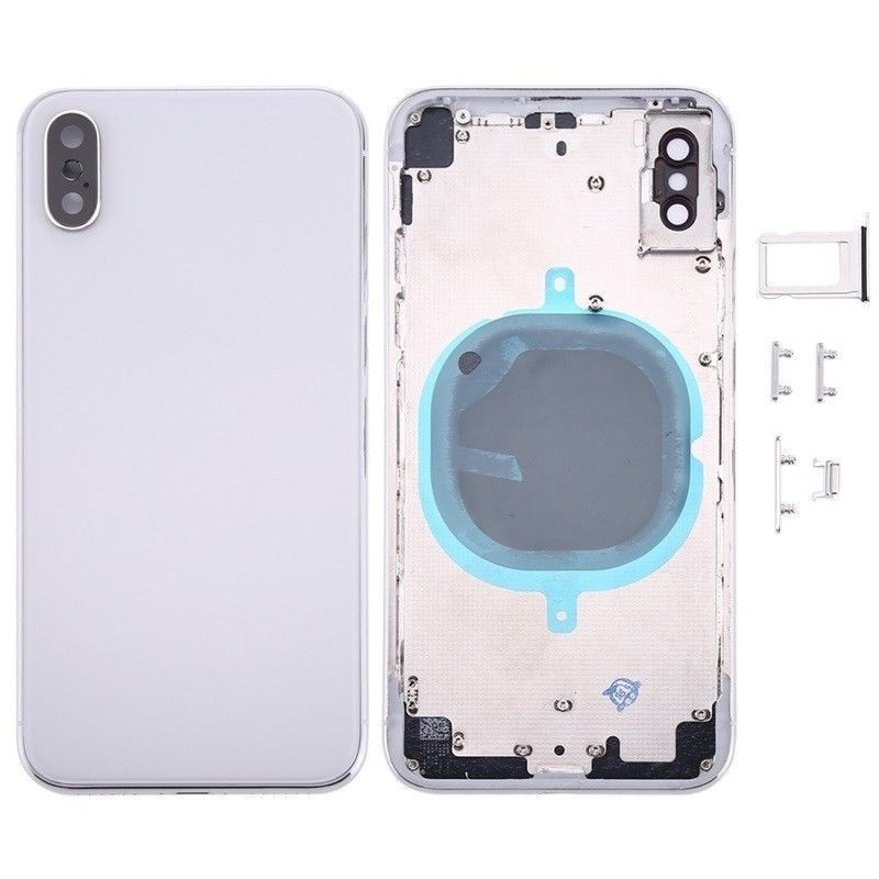 Back Cover Assembled White pro Apple iPhone XS