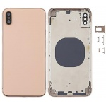 Back Cover Assembled Gold pro Apple iPhone XS