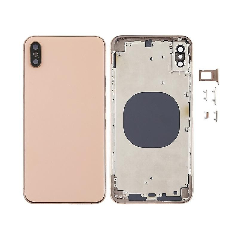 Back Cover Assembled Gold pro Apple iPhone XS Max