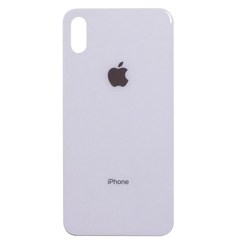 Back Cover Glass White pro Apple iPhone XS