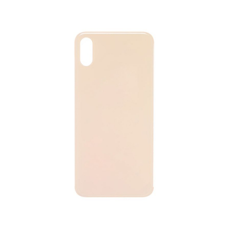 Back Cover Glass Gold pro Apple iPhone XS Max