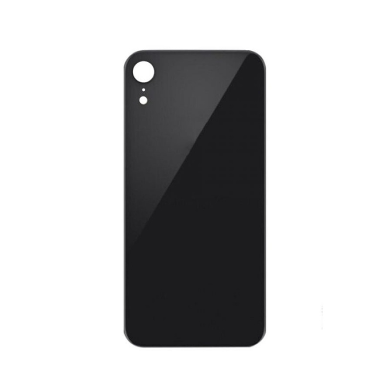 Back Cover Glass Black pro Apple iPhone XR
