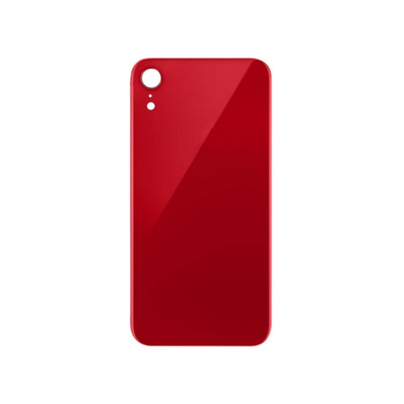 Back Cover Glass Red pro Apple iPhone XR