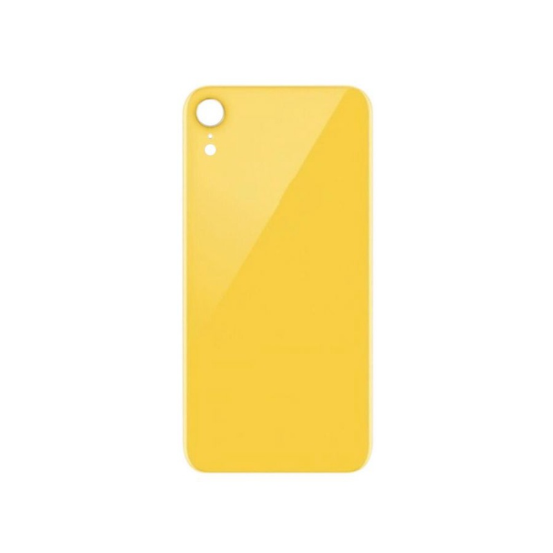 Back Cover Glass Yellow pro Apple iPhone XR