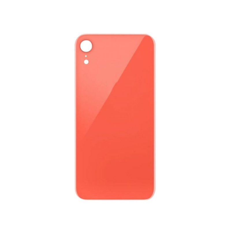 Back Cover Glass Orange pro Apple iPhone XR