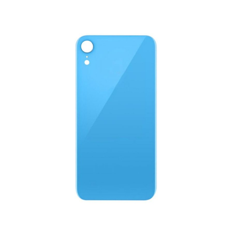 Back Cover Glass Blue pro Apple iPhone XR