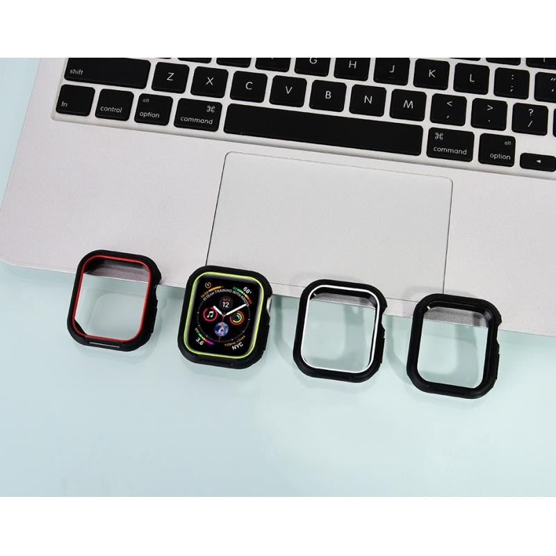 COTEetCI Apple Watch 4 PU + TPU Case 44mm