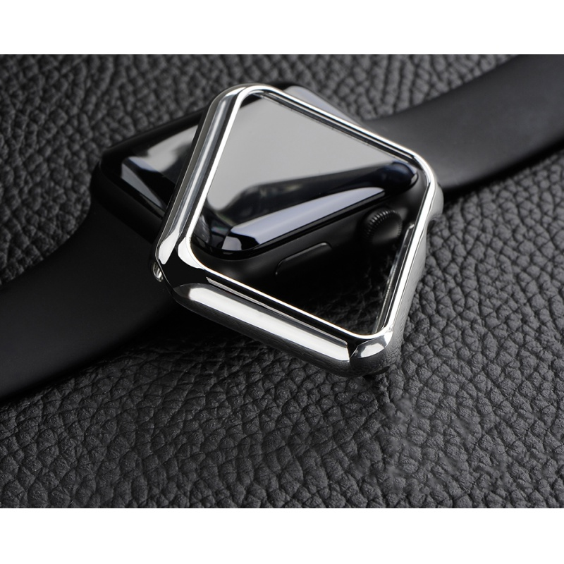 COTEetCI Apple Watch 1 / 2 / 3 PC Case 42mm Silver